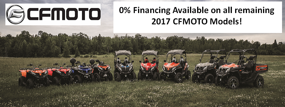 All cfmoto models lineup with logo